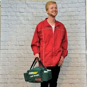 Tote Bag Insulated Coca-Cola Subway Beer Hipster